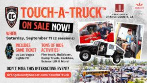 Touch-A-Truck flier 2021